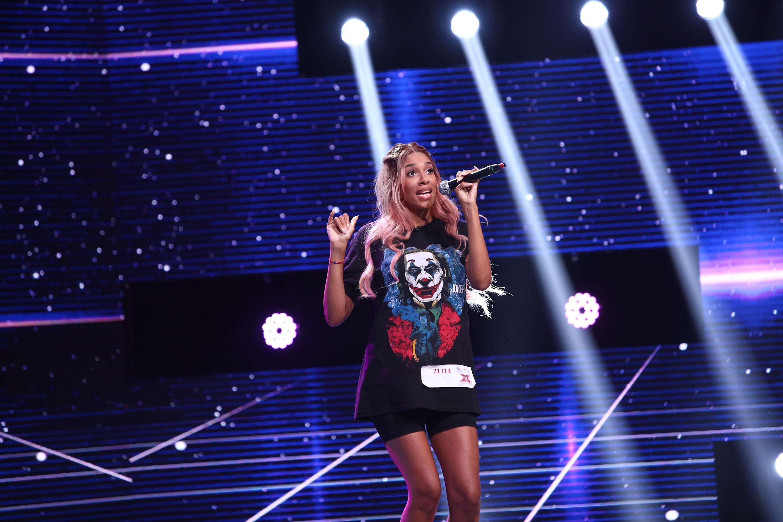 X Factor 2020. Anne Laura Noupadja a făcut senzație cu look-ul său, iar Ristei s-a gândit deja la o trupă de fete pentru ea
