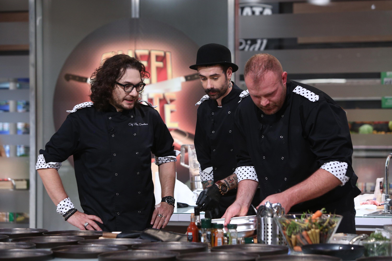 Florin Dumitrescu, dezlănțuit în bucătăria Chefi la cuțite! Ce a țipat la propria echipă