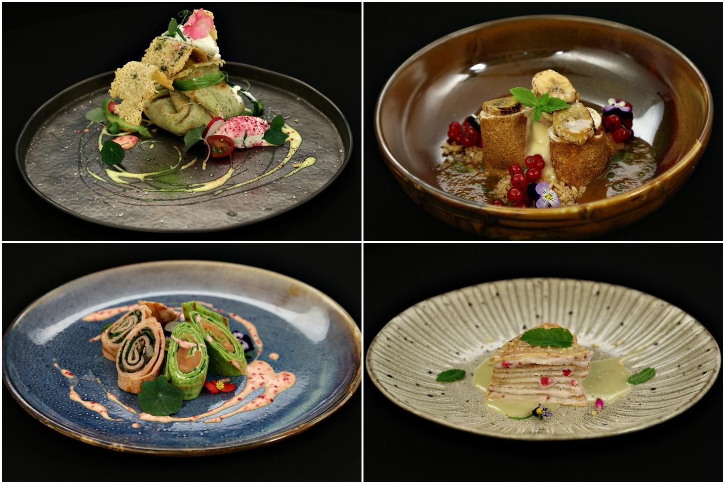 Cele mai interesante rețete de clătite, gătite de concureți în sezonul 8 de la Chefi la cuțite