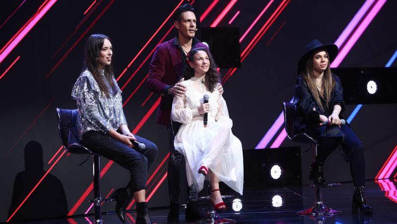 """Ștefan Bănică Jr. și concurentele din echipa sa, în noul sezon """"X Factor"""""""
