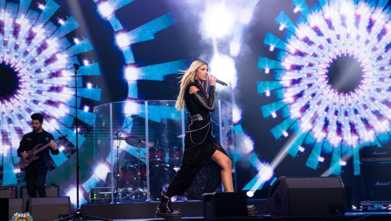 Alina Eremia, show total pe scenă la Marea Unire ZU