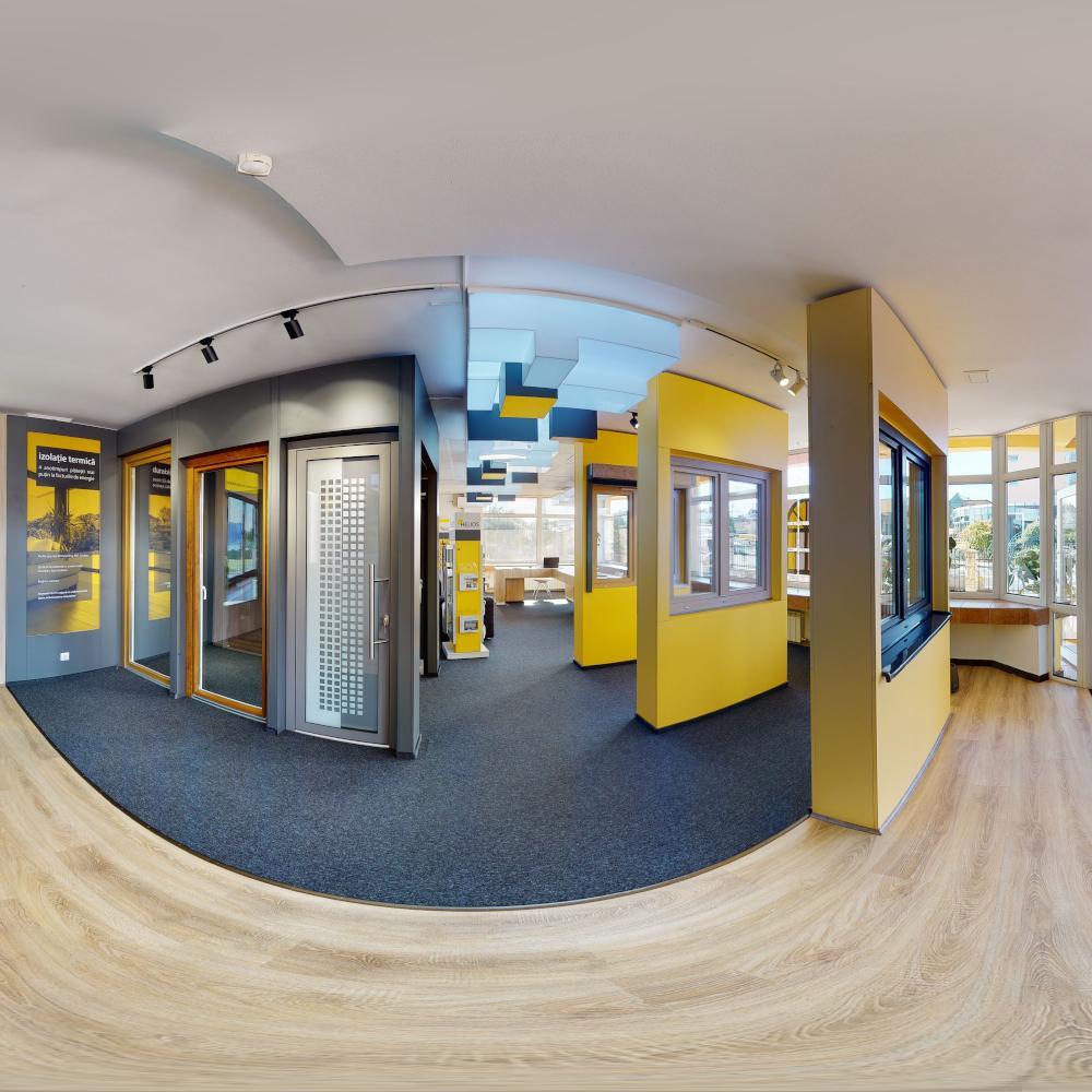 Primul showroom virtual de ferestre și uși din Transilvania