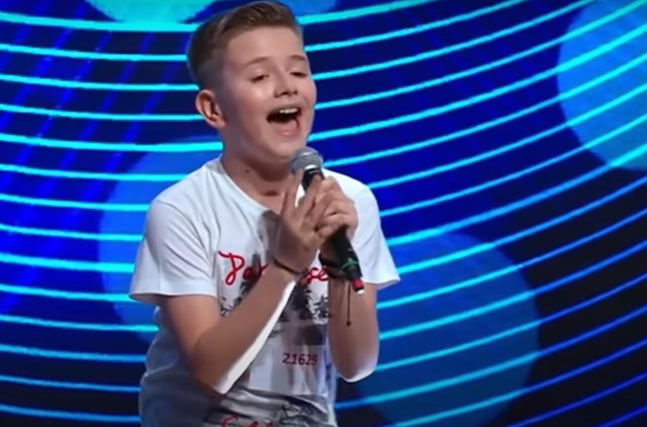 """David Adrian Ștefan, cel mai tânăr concurent din istorie: """"Mi-am făcut buletinul, apoi am venit la X Factor!"""""""