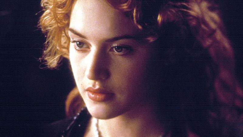 Kate Winslet în rolul lui Rose din Titanic