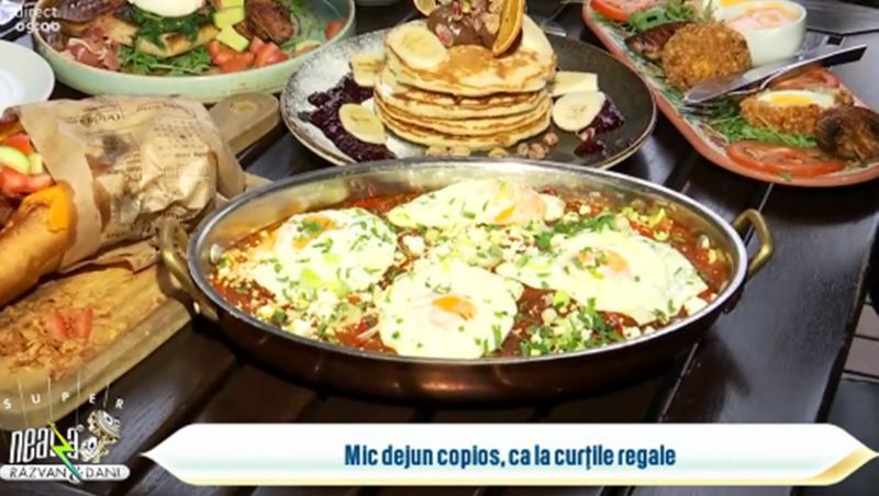 Idei de mic dejun copios ca la curțile regale prezentat de Chef Munti la Neatza cu Răzvan și Dani