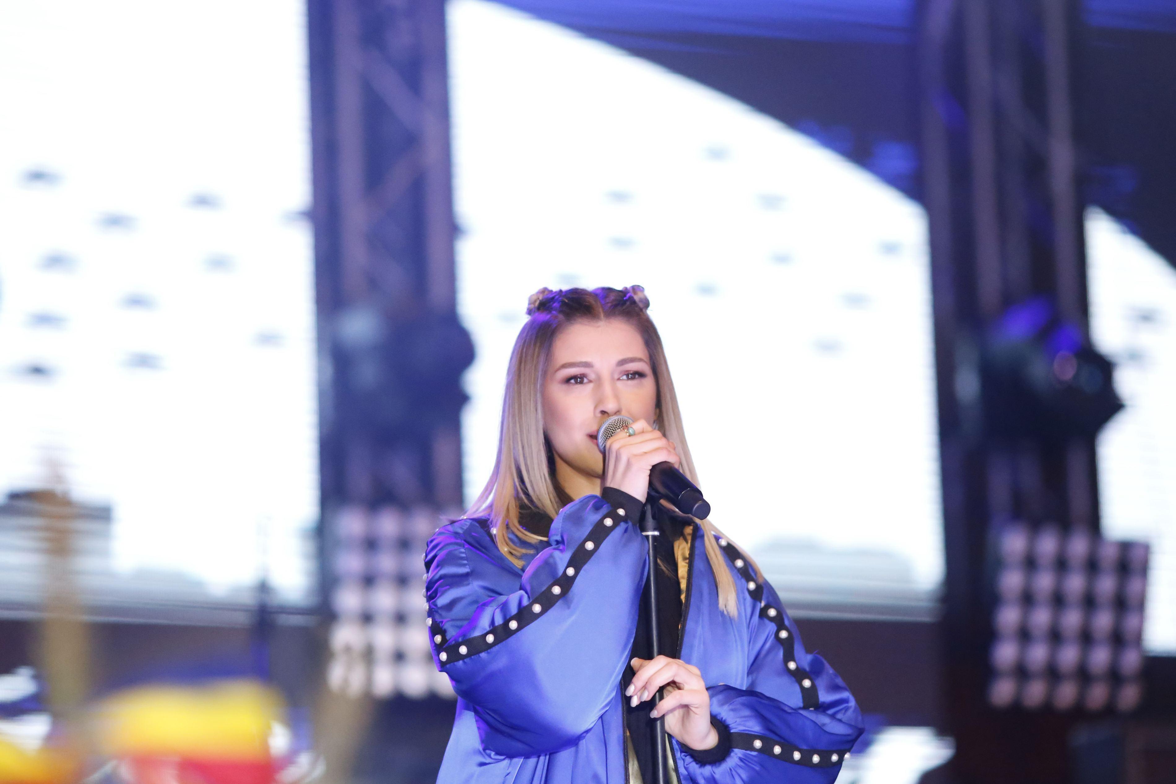Alina Eremia, pe scenă, în Timișoara