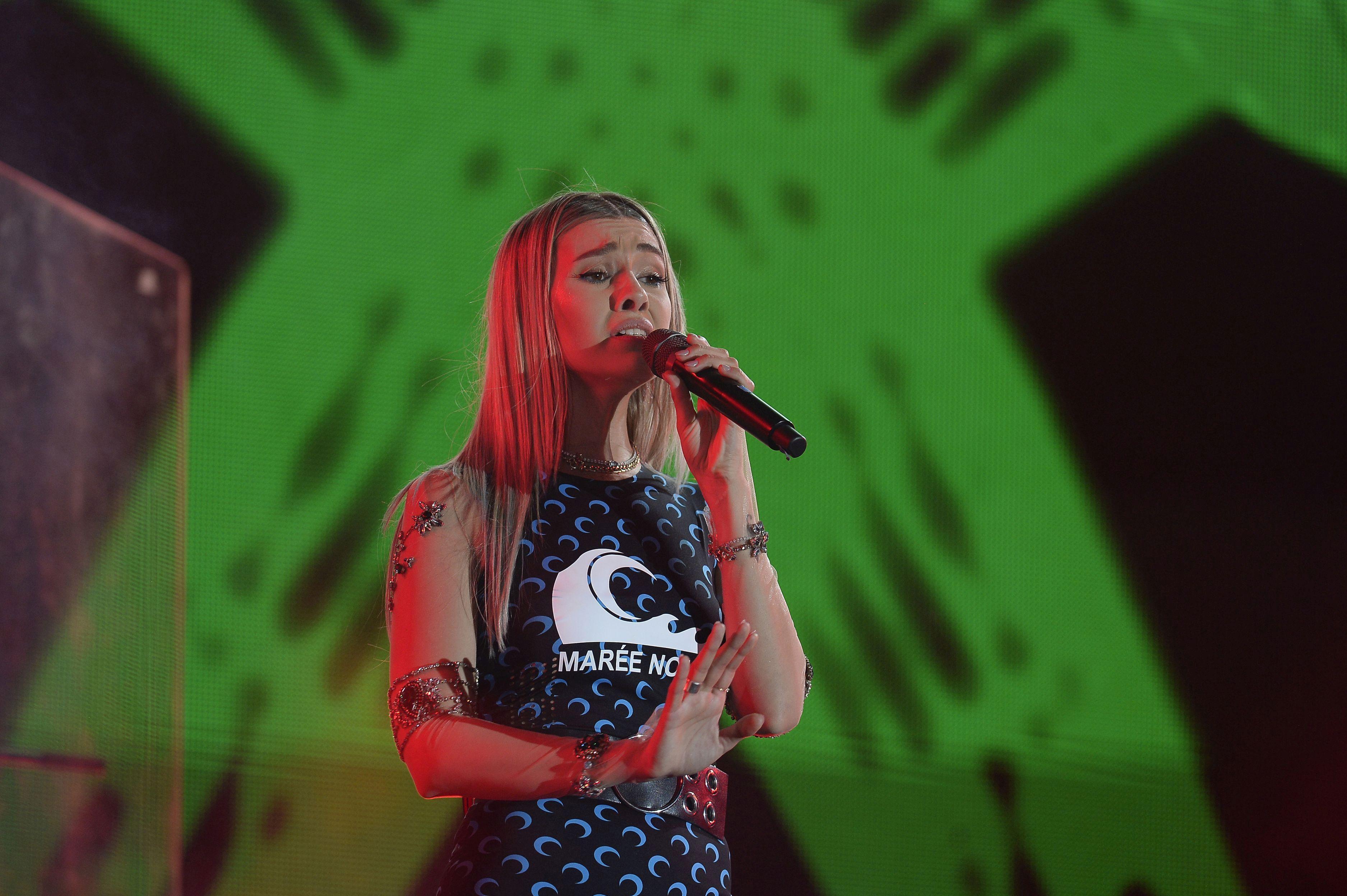 Alina Eremia, pe scenă, în vara anului 2020