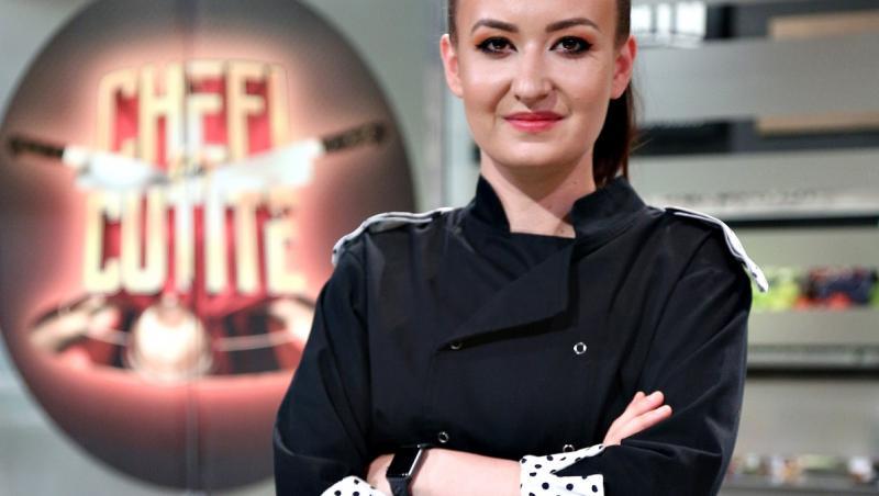 "Roxana Blenche de la ""Chefi la cuțite"", sezonul 8"