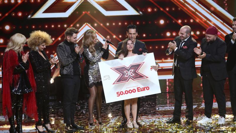 Andrada Precup, marea câștigătoare a sezonul 9 X Factor 2020
