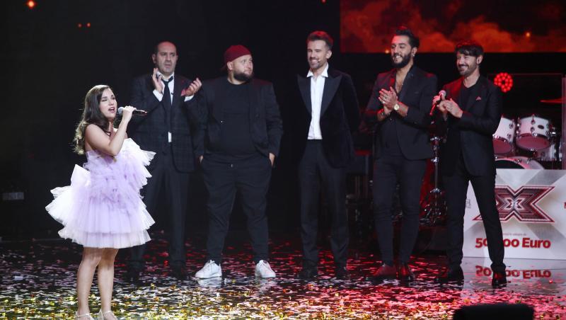 """Andrada Precup, a interpretat piesa """"Lie, ciocârlie"""" după ce a fost desemnată marea câștigătoare a sezonului 9 X Factor"""