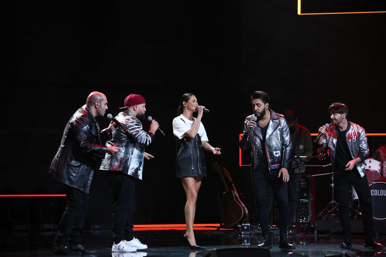 Raluka, pe scana X Factor 2020, alături de italienii de la Super 4