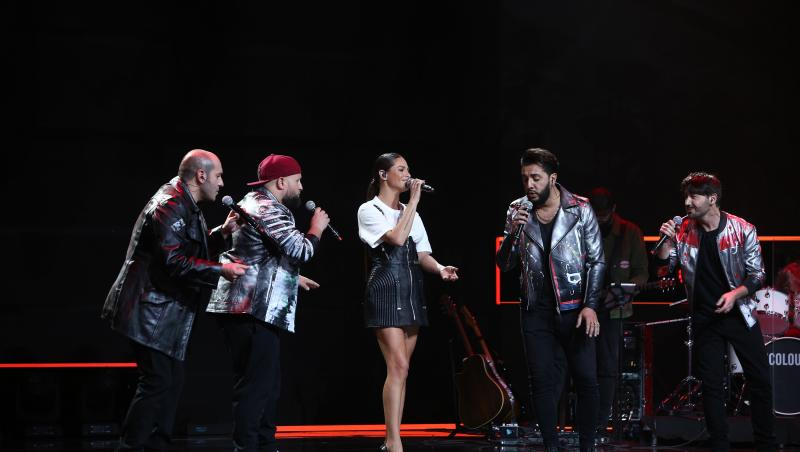 Italienii de la Super 4 au cântat împreună cu Raluka, în Finala X Factor 2020