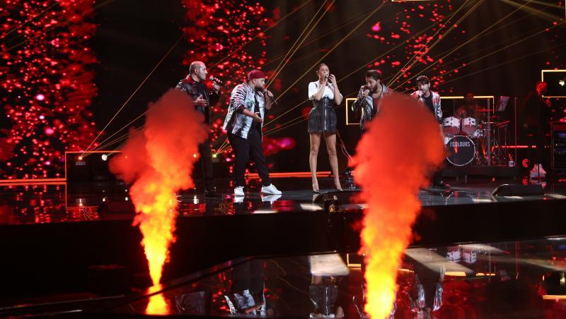 Super 4 și Raluka, pe scena X Factor
