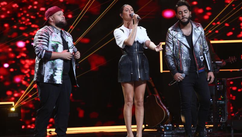 Raluka a cântat alături de Super 4 în Finala X Factor 2020