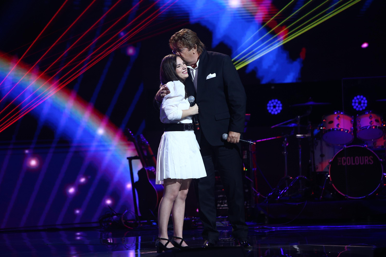 """Finala X Factor 2020. Andrada Precup, moment emoționant alături de Adrian Daminescu și Damian Drăghici: """" Are un har incredibil"""""""