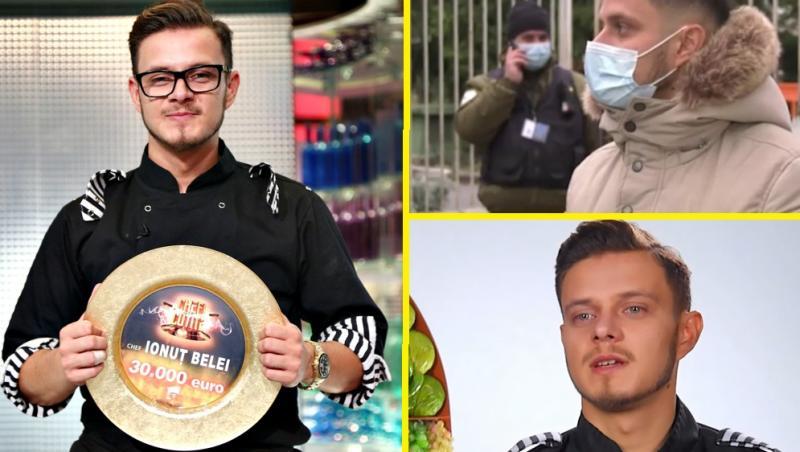 """Ionuț Belei de la """"Chefi la cuțite"""" a ajuns la spital"""