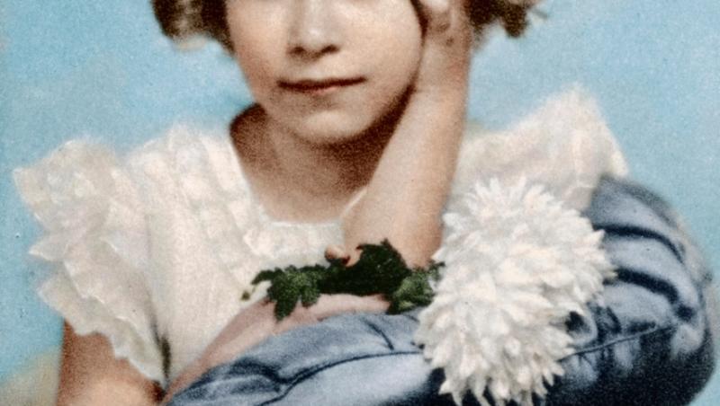 Regina Angliei la doar 9 ani