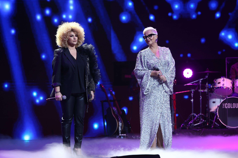 """Finala X Factor 2020. Sonia Mosca, moment sublim alături de Monica Anghel: """"Are o voce cu totul și cu totul specială"""""""