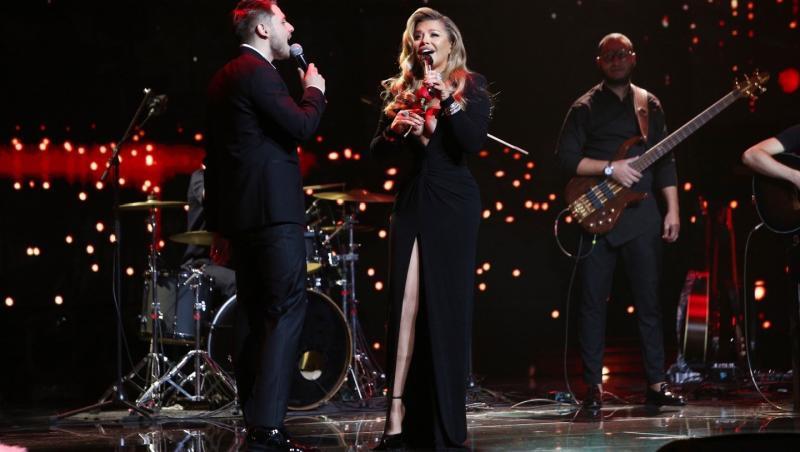 Adrian Petrache, pe scena X Factor 2020, împreună cu Loredana