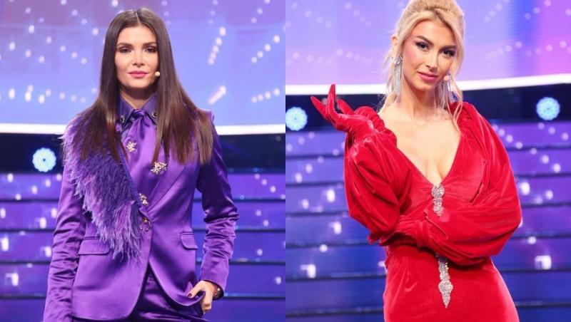 Alina Pușcaș și Andreea Bălan, apariție spectaculoasă în ultima etapă a show-ului