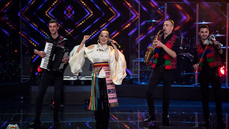 Vlăduța Lupău, petrecere pe scena de la Marea Unire ZU