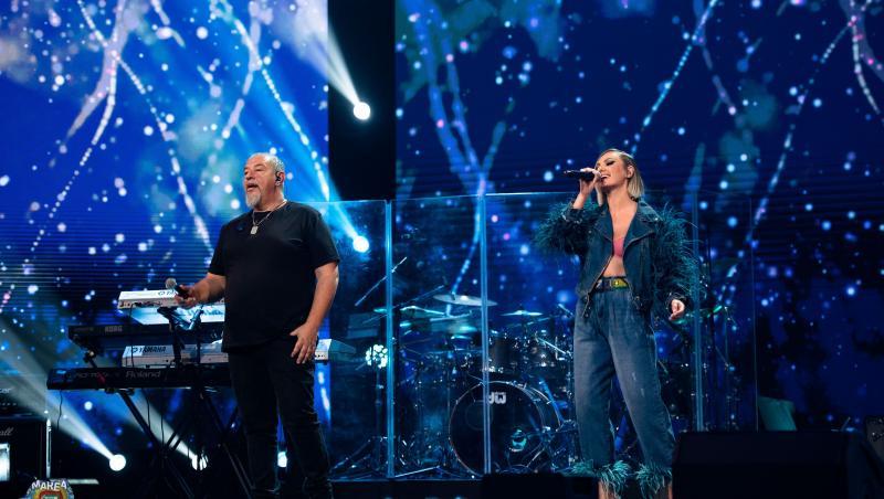 """Alexandra Stan și Bodo la Marea Unire ZU 2020. Artiștii au interpretat piesa """"Cerul"""""""