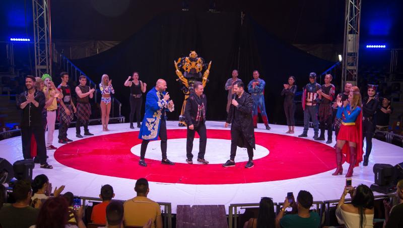 Începând din 28 decembrie, Nea Mărin revine la Antena 1 cu un nou sezon al emisiunii, Poftiți la circ