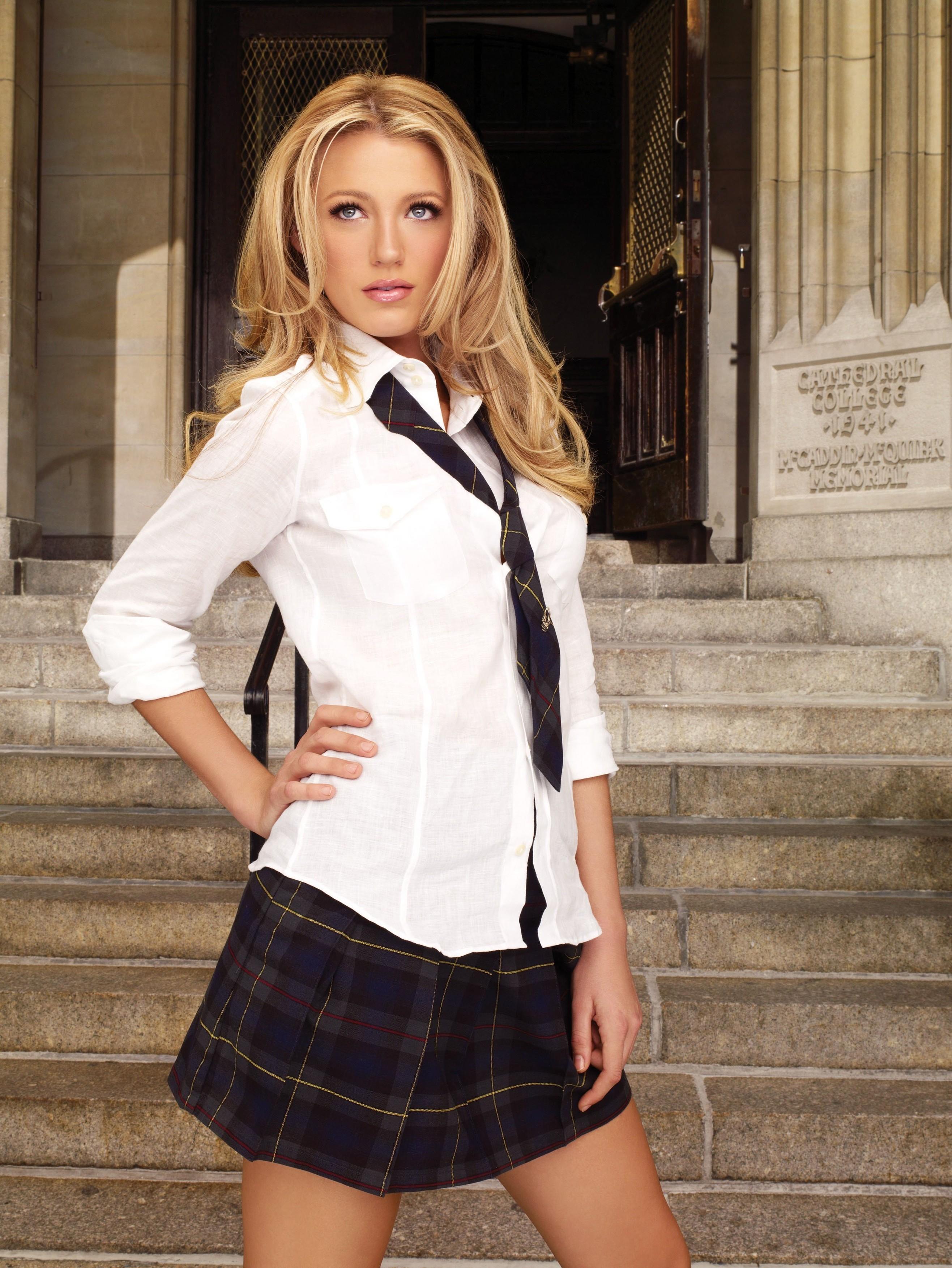 Blake Lively, promo pentru Gossip Girl