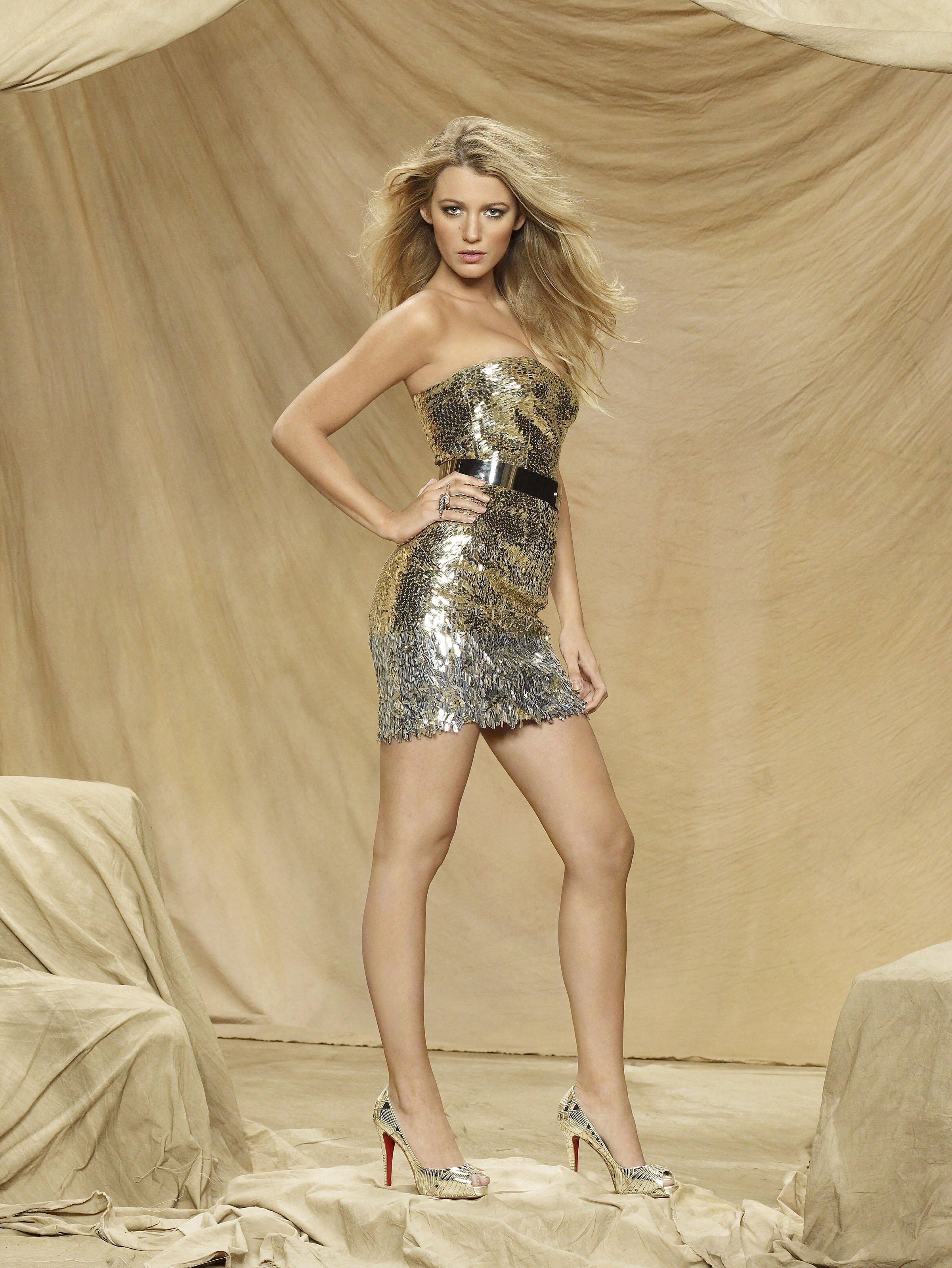 Blake Lively, foto promotional pentru Gossip Girl