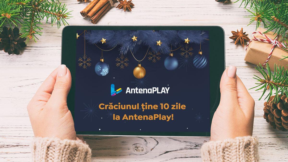 Maratonul filmelor de Crăciun și al emisiunilor speciale de sărbători, gratuit, pe AntenaPlay