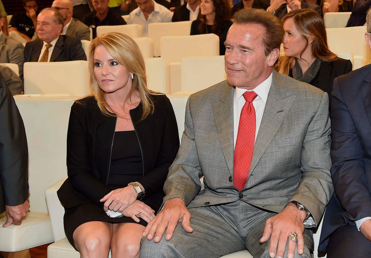 Arnold Schwarzenegger și Heather Milligan