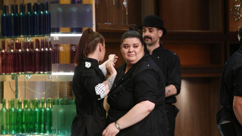 Claudia Radu, în lacrimi la Chefi la cuțite