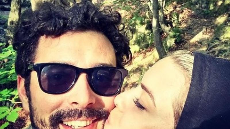 Marius Moga, fotografie rară cu soția sa, Bianca Lăpuște