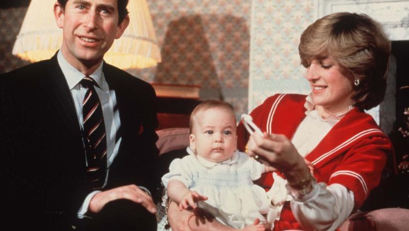 William, printesa Diana si printul william de craciun