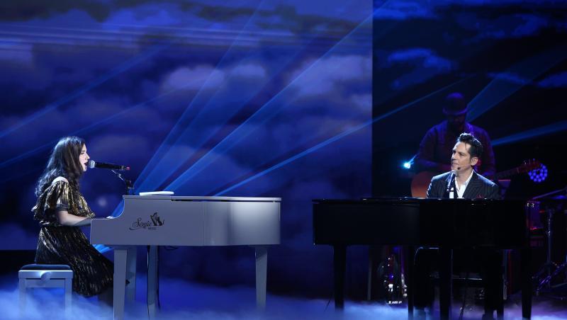 Primul duet Ștefan Bănică și Lavinia Pîrva,