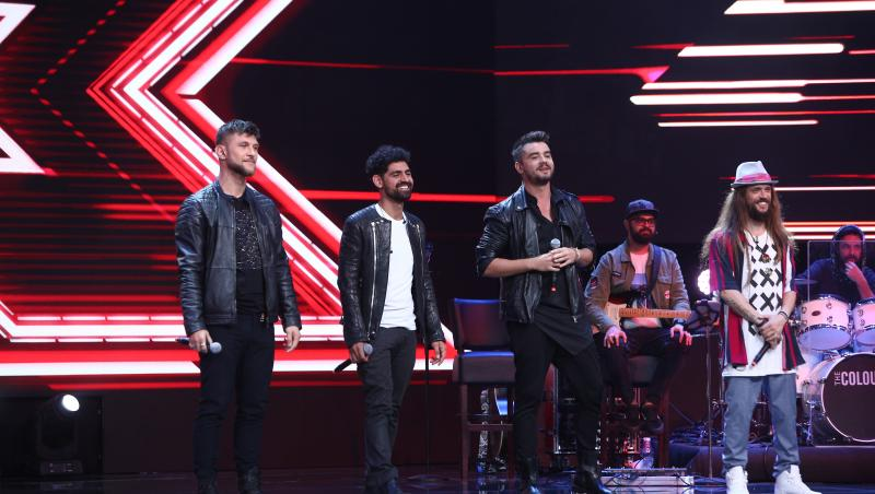 "X Factor 2020. ""4Sure"" au făcut un moment remarcabil și plin de energie. Florin Ristei a reacționat imediat"