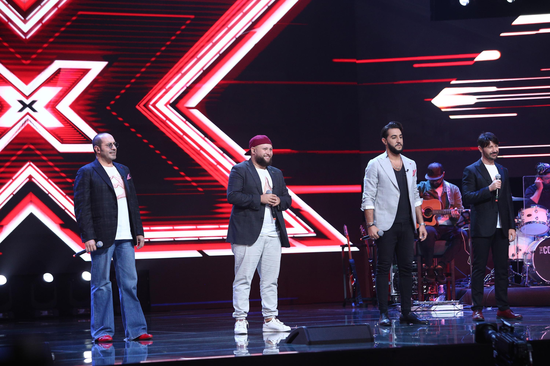 X Factor 3 decembrie 2020. Super 4 au luat din nou cu asalt scena în Bootcamp. Florin Ristei, mândru de prestația lor