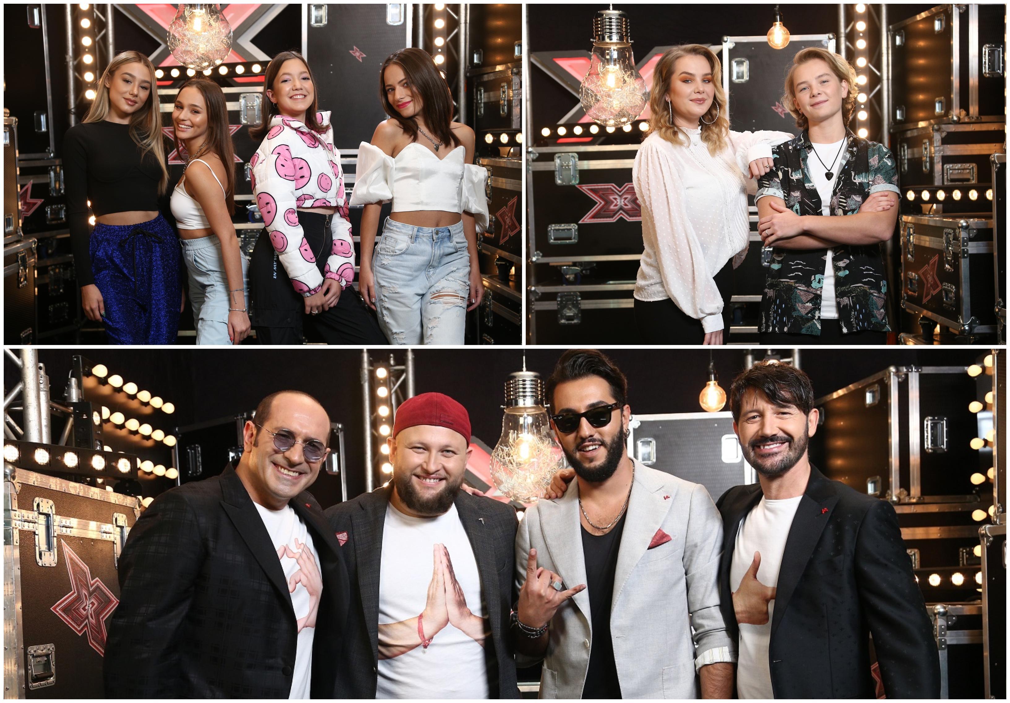 X Factor 3 decembrie 2020. Grupurile din echipa lui Florin Ristei care au trecut de Bootcamp și merg în etapa următoare