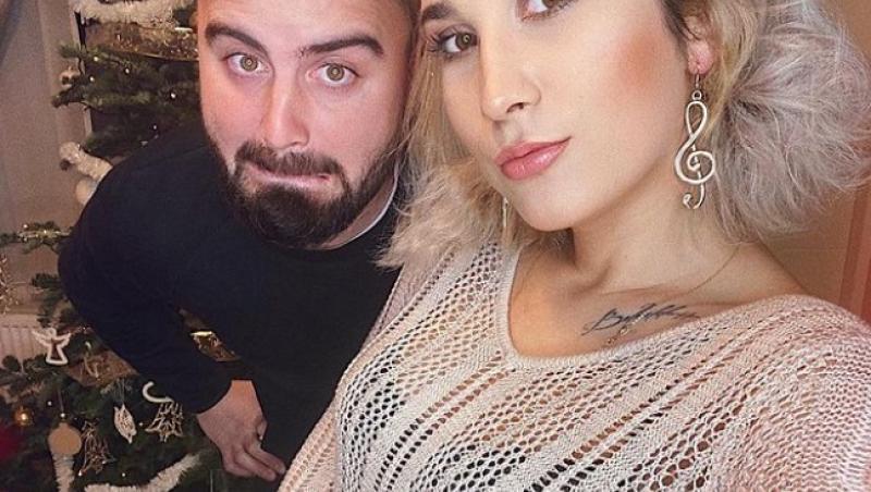 Adda și Cătălin Rizea au făcut un selfie împreună, de sărbători, pentru pagina de Instagram a artistei