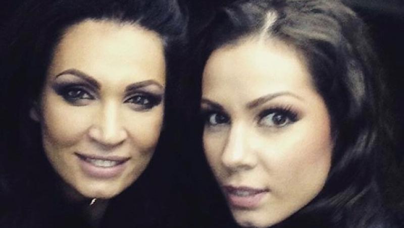 Nicoleta și Iuliana Luciu, selfie de senzație