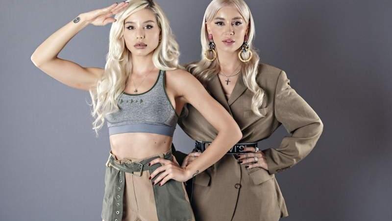 Alina Ceușan și prietena sa Carmen Grebenișan, înainte de plecarea în Asia Express. La întoarcerea din competiție Alina a rămas însărcinată
