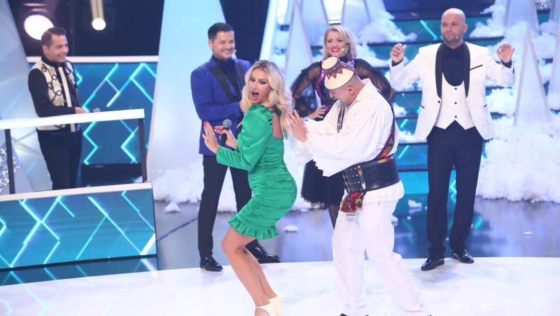 Andreea Bănică, la proba indiciului, alături de Lupu Rednic