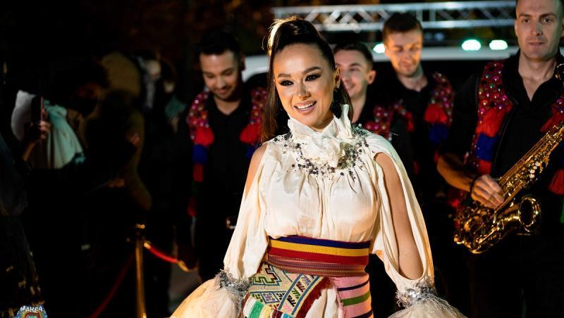 Vlăduța Lupău la concertul Marea Unire Zu