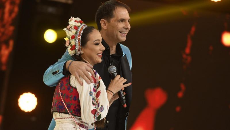 Vlăduța Lupău alături de Dan Negru, la Revelionul Starurilor de la Antena 1