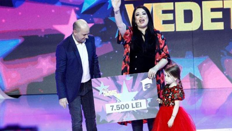 Oana Roman, alături de fiica ei la emisiunea Aici eu sunt vedeta, de la Antena 1