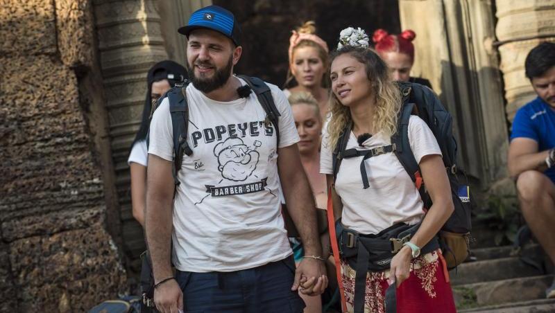 Lora și Ionuț Ghenu au participat la Asia Express, sezonul 1