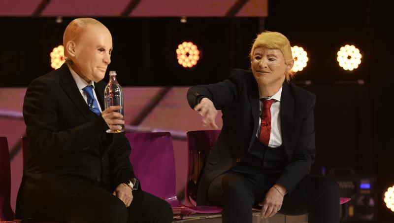 Trump și Putin, revelion 2021