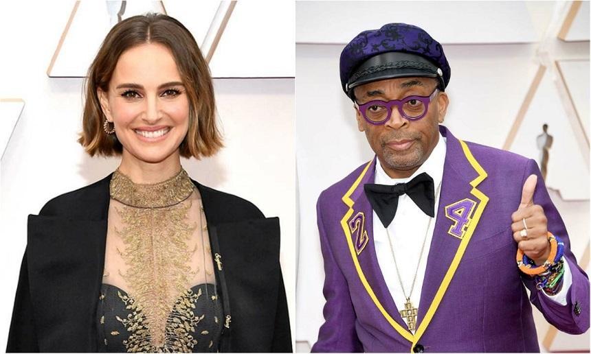 Stilul Oscar 2020 - Actriţa Natalie Portman a purtat numele unor regizoare. Cineastul Spike Lee l-a omagiat pe Kobe Bryant