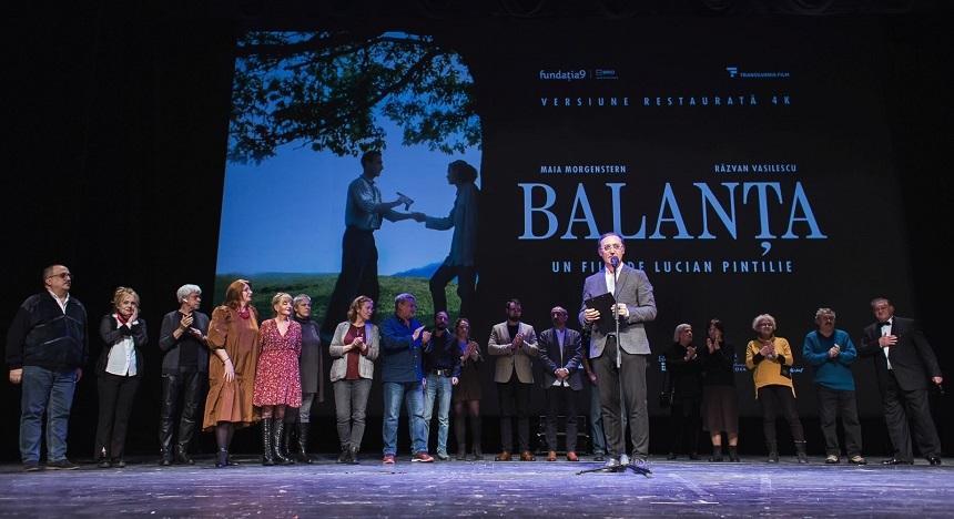 """""""Balanţa"""", primul film românesc restaurat în format digital 4K, în cinematografe din 18 oraşe româneşti"""