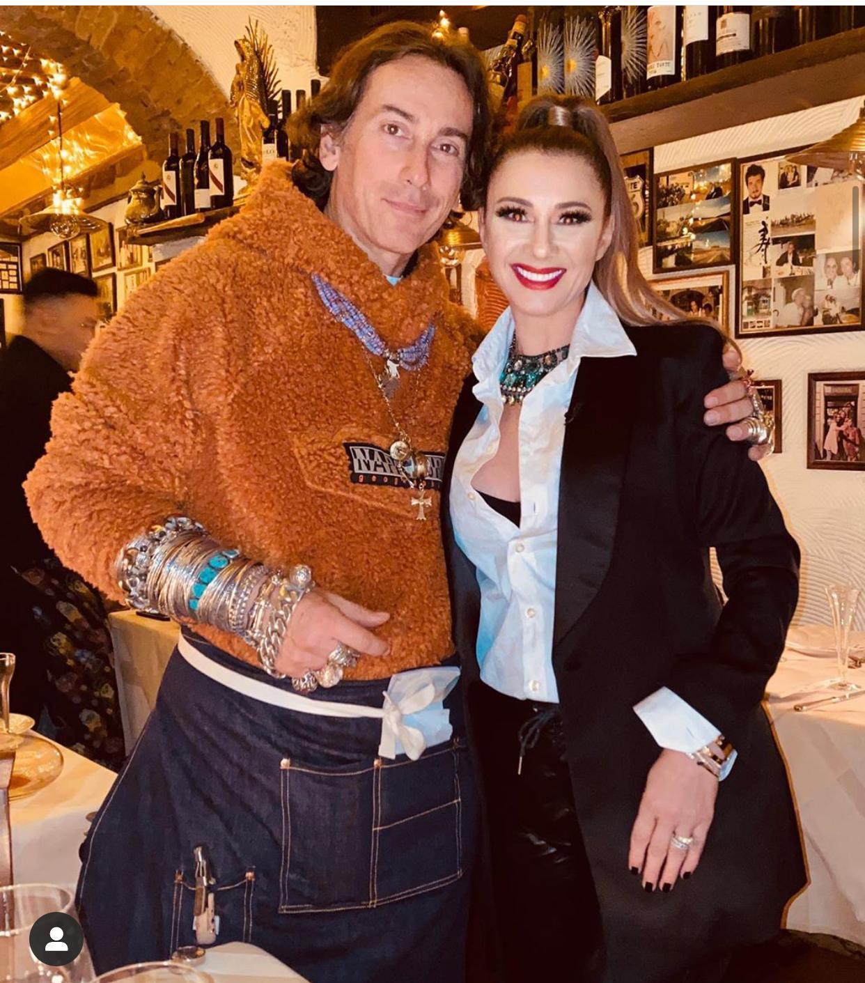 Prințul Soldano a servit-o! Anamaria Prodan, cinã la unul dintre cele mai bune restaurante din lume, în Florenţa